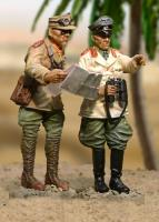 DAK Rommel w/Adjutant