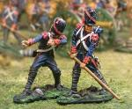French Guard Cannon Movers (2 figs)
