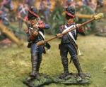 French Guard Cannon Ramrod/Loader (2 figs)