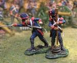 French Guard Igniter/Sponger (2 figs)