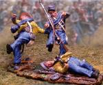 5th Texas Wounded (3 figs)