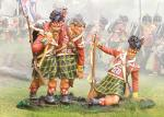 92nd Highlanders Holding/ Wounded