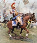 French Carabinier Attacking