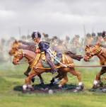 British RHA Caisson Horse Set