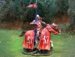 English Lance Rider  Roger, Lord de la Warr