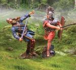 Roman Attacking Celt