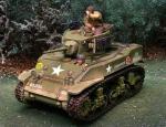 M5 Stuart Tank Normandy
