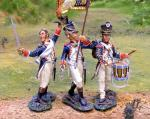 French Line Infantry Command Set 3/figs