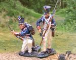 French Line Infantry Re-Loading 2/figs