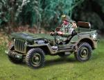 101st Jeep w/1 figs driving