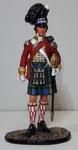 Англия. Офицер шотландской пехоты.