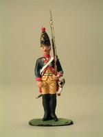 Гренадёр с ружьём на плече 12 пехотный полк