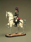 Карабинер - кирасир на коне