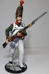 Гренадер Павловского гренадерского полка. Россия, 1811-13 гг.