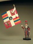 Рядовой с флагом