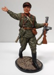 WWII-31  Старший сержант пехоты РККА. 1941-43 гг. СССР