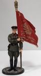 Ст. сержант погранвойск НКВД со знаменем, 1939-43гг. СССР