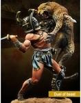 Duel of beast